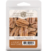 Oak & Rye™ Sugared Pecans Scented Wax Cubes - 6 pk / 2.5 oz