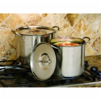 Cookpro Steel Stockpot 8 Quart and 12 Quart
