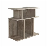 Monarch 24  Accent Side Table in Dark Taupe - 1