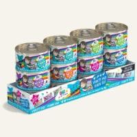 Weruva 878408001468 2.8 oz Bff Cat Omg Variety Rainbow - Case of 24 - 1