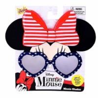 Sunstaches SG3085 Minnie Cosplay, Red, White & Blue