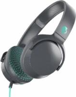 Skullcandy Riff Wired Headphones - Black/Mint