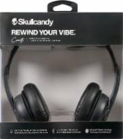 Skullcandy Cassette Wireless Bluetooth Headphones - Black - 1 ct