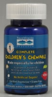 Trace Minerals Research  Complete Children's Chewable   Wild Cherry