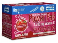 Trace Minerals Research  Electrolyte Stamina Power Pak   Cranberry - 30 Packets