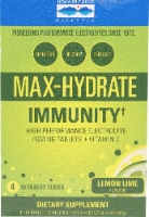 Trace Minerals Research  Max-Hydrate Immunity+ Box    Lemon Lime
