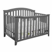 Athena 456G AFG Kali 4-in-1 Convertible Crib, Grey - 1