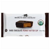 Brooklyn Born Chocolate Dark Chocolate Peanut Butter Cups - 1.4 oz