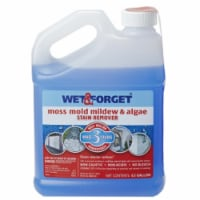Wet and Forget Algae,Mildew,Mold,Moss Remover,0.50 gal.  800003 - 64 oz.