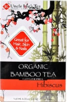 Uncle Lee's  Organic Bamboo Tea   Hibiscus