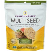 Crunchmaster Rosemary & Olive Oil Multi-Seed Crackers
