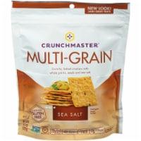 Crunchmaster Sea Salt Multi-Grain Crackers