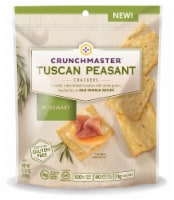 Crunchmaster Rosemary Tuscan Peasant Crackers