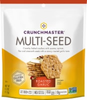 Crunchmaster Multi-Seed Roasted Garlic Crackers