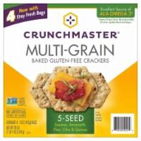 Crunchmaster 5 Seed Multi-Grain Cracker, 20 Ounce - 1 unit