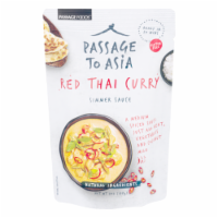 Passage To Asia Red Thai Curry Simmer Sauce