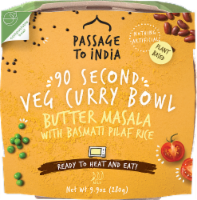 Passage to India 90 Second Butter Masala Veg Curry Bowl