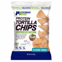 Performance Inspired Nutrition , On-The-Go, Protein Tortilla Chips, Pack of 12, Classic Ranch - 1