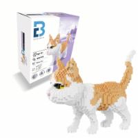 Tabby Cat 3D Puzzle Nano Blocks - 1,390 Blocks