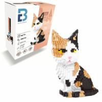 Calico Cat 3D Puzzle  Nano Blocks - 1300 Blocks