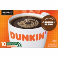 Dunkin' Donuts Original Blend Coffee K-Cup Pods 10 Count