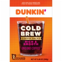 Dunkin' Donuts Cold Brew Coffee Packs 2 Count