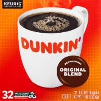 Dunkin' Donuts Original Blend Medium Roast Coffee K-Cup Pods - 32 ct