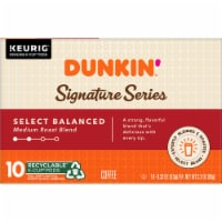 Dunkin' Signature Series Medium Roast Blend K-Cup Pods 10 Count