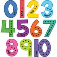 Colorful Jumbo Numbers Bulletin Board Set - 1