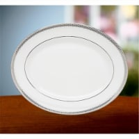Lenox Lace Couture 13 in. Oval Platter