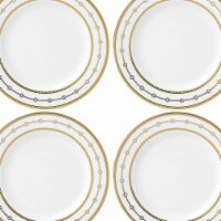 Lenox 863898 Jeweled Jardin Dinnerware Tidbits Set, 6.3 dia. - 4 Piece - 4