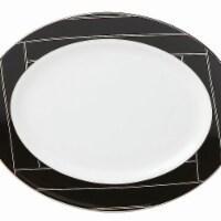 Lenox Brian Gluckstein Winston Dinnerware Oval Platter, 13