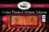 Cedar Bay Grilling Co. Hickory Maple Cedar Planked Atlantic Salmon