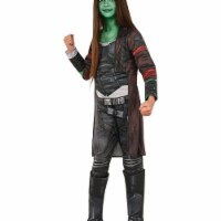 Rubies 248770 Guardians of The Galaxy Volume 2 Gamora Deluxe Childrens Costume, Black - Mediu - 1