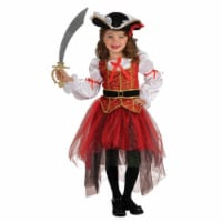 BuySeasons 286818 Girls Princess of the Seas Costume, Small