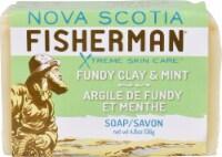 Nova Scotia Fisherman Bar Soap Fundy Clay and Mint