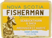 Nova Scotia Fisherman Bar Soap Seabuckthorn & Shea