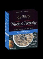 Better Oats Thick & Hearty Blueberry Muffin Instant Oatmeal Packets