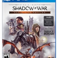 Warner Home Video Games Middle Earth Shadow of War Definitive Edition Video Game