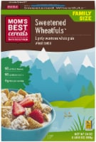 Mom's Best Sweetened Wheatfuls Family Size Cereal