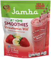 Jamba All Natural Stawberries Wild Smoothie Mix