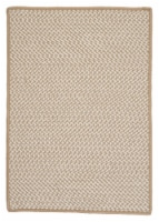 Colonial Mills Outdoor Houndstooth Tweed Rugs - Cuban Sand