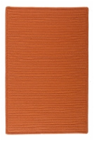 Colonial Mills Simply Home Solid Rugs - Rust