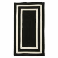 Colonial Mills La Playa Rug - Black/White