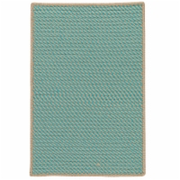 Colonial Mills Point Prim Area Rug - Teal