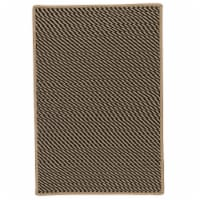 Colonial Mills Point Prim Area Rug - Black - 3 x 5 ft