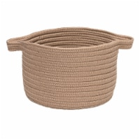 Colonial Mills Lifestyle Texture Solid Basket - Mocha