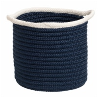 Colonial Mills Sonoma Basket - Navy