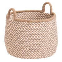 Colonial Mills Preve Basket - Taupe/White