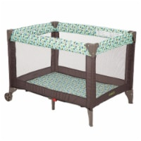 Cosco Funsport Portable Compact Baby Toddler Play Yard w/Wheels, Elephant Square - 1 Unit